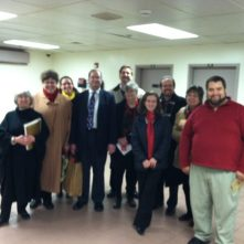 Some of the awesome volunteers who helped distribute the Gift Bags and presented a Christmas Program for the inmates.
