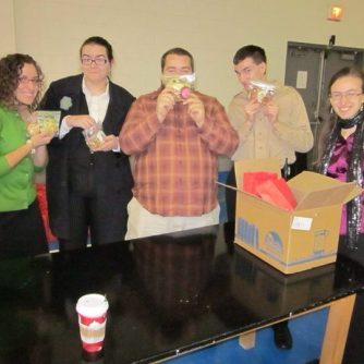 Some of the volunteers. Oh, it touches my heart to see their faces. Such heroes! This was on Christmas Eve, mind you. <3