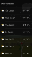 A glimpse at this week's weather.