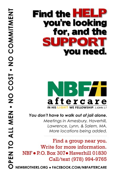 Generic NBF Aftercare Flyer