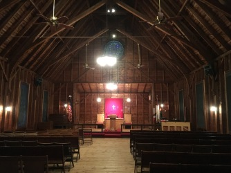 We got to pray in this beautiful chapel last month. Took my breath away.