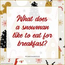 SnowmanBreakfast